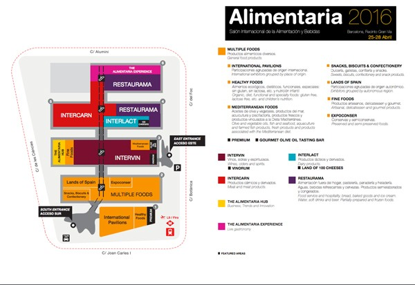 Alimentaria 2016 multiple food